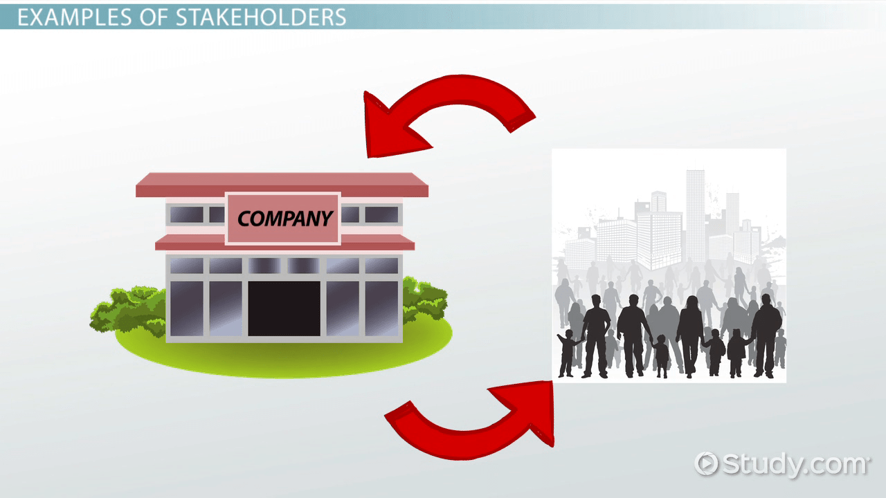 What Is A Stakeholder In Business Definition Examples