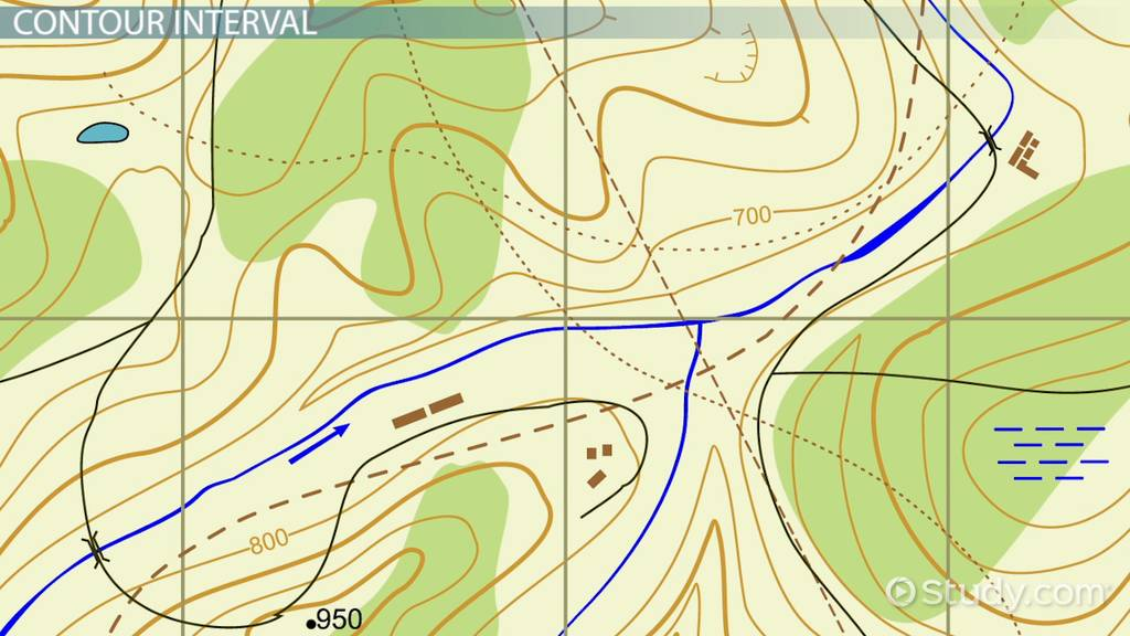 topographic map definition