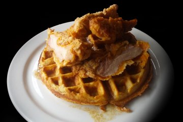 24 Diner's Chicken and Waffles