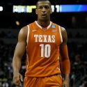PITTSBURGH, PA - MARCH 19:  Jonathan Holmes #10 of the Texas Longhorns plays against the Butler Bulldogs during the second round of the 2015 NCAA Men's Basketball Tournament at Consol Energy Center on March 19, 2015 in Pittsburgh, Pennsylvania.  (Photo by Justin K. Aller/Getty Images)