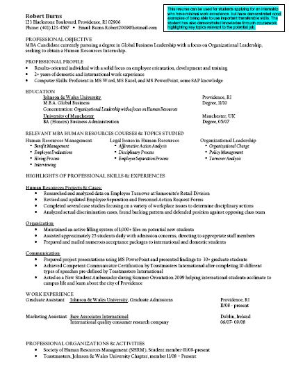resume objective examples finance tech