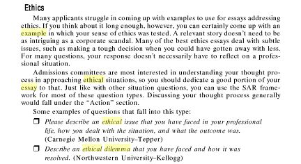 Writing A Case Study Organize Your Papers With Pro Help Ethical Dilemma Mba Essay Example 2017 2018 Studychacha