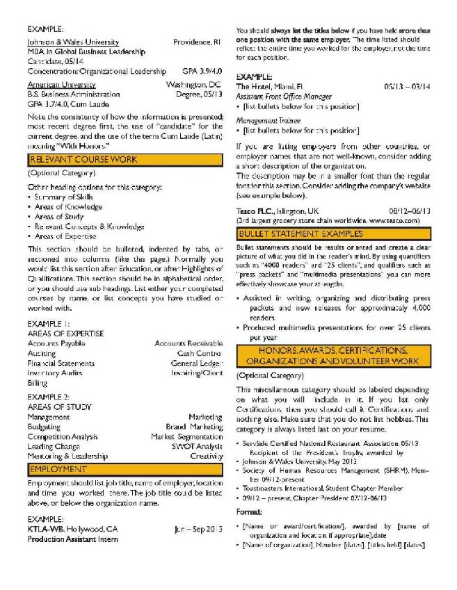 resume security officer supervisor accounts receivable