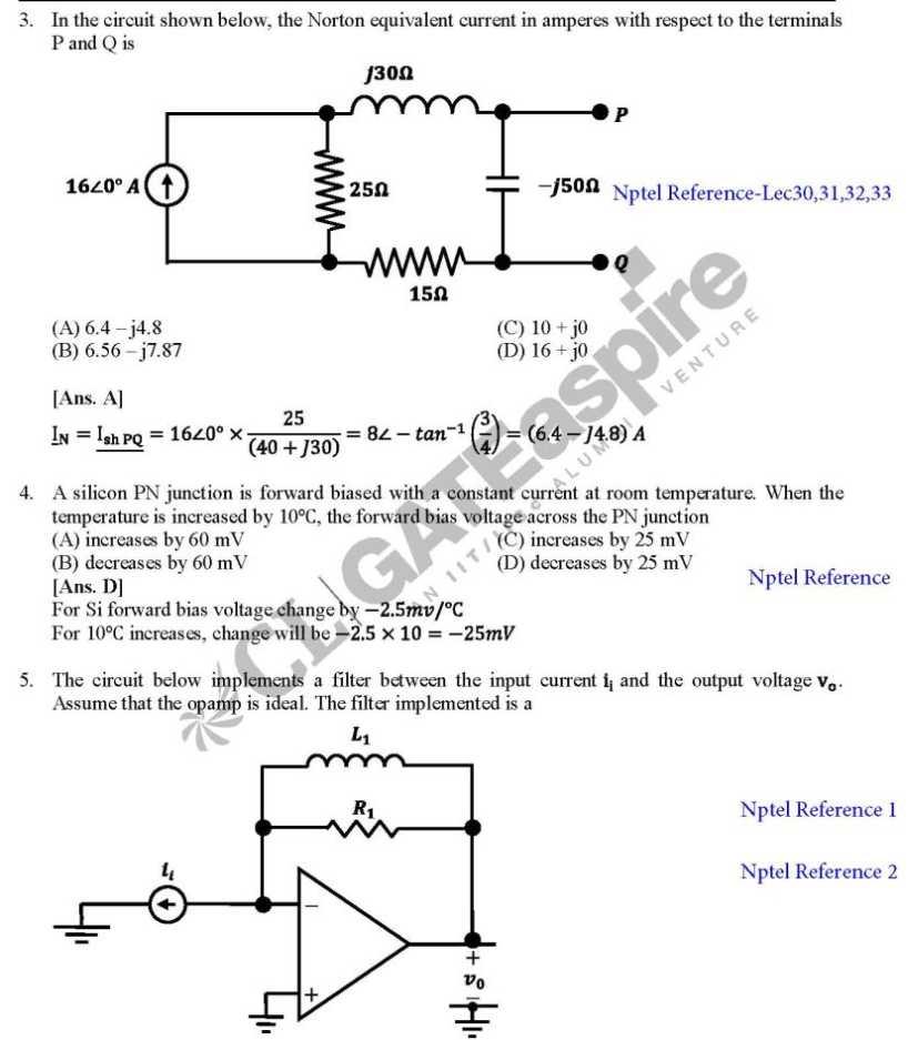 electronic circuits 2 question bank pdf