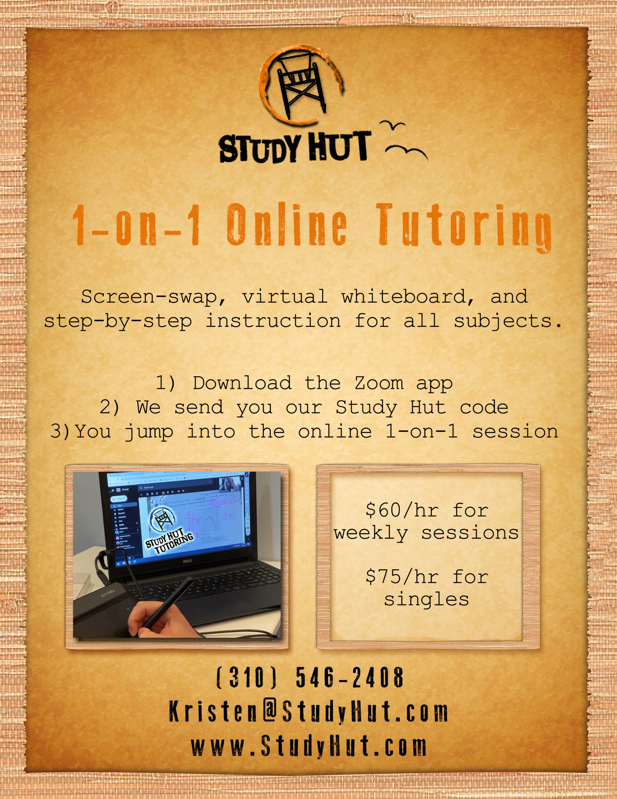 Online Tutoring Services In The South Bay Study Hut - Online Study App Download