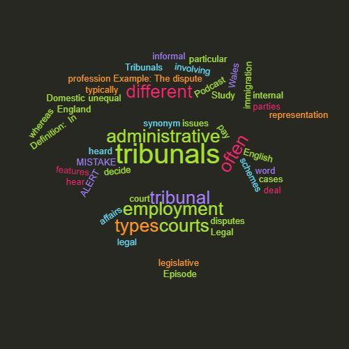 Word of the Week Tribunal \u2013 Study Legal English