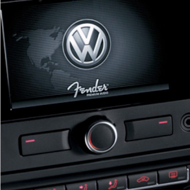 Fender Premium Audio System, exclusively in Volkswagen and Nissan