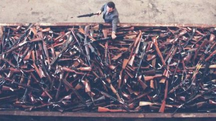 Thousands of guns were handed back under a buy back scheme in Australia following the Port Arthur massacre. (File photo)