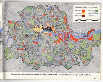 abercrombie plan for london