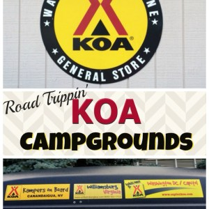 How our family spent our summer road trip at KOA Campgrounds StuffedSuitcase.com