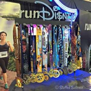 Walt Disney World runDisney race medals StuffedSuitcase.com