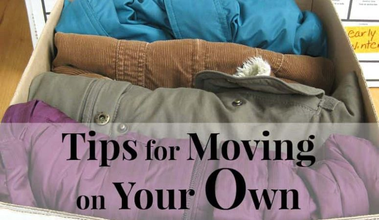Organized Moving Tips  A to Z Packing Tips