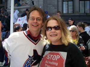 medical marijuana activist Marc Emery is a Canucks fan