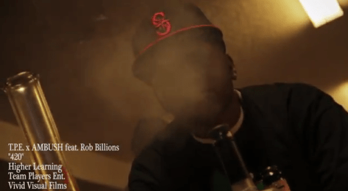 "VIDEO: TPE x AMBUSH feat. Rob Billions ""420″"