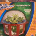 hydrodome for growing herbs