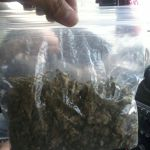 big bag of weed