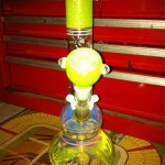 brand new BONG in yellow