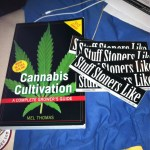 cannabis cultivation book and STUFF STONERS LIKE STICKERS