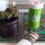 lighter green weed pill bottle marijuana