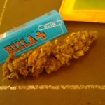 Rizzla rolling papers and some WEED