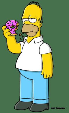 Homer-Simpson-doughnut