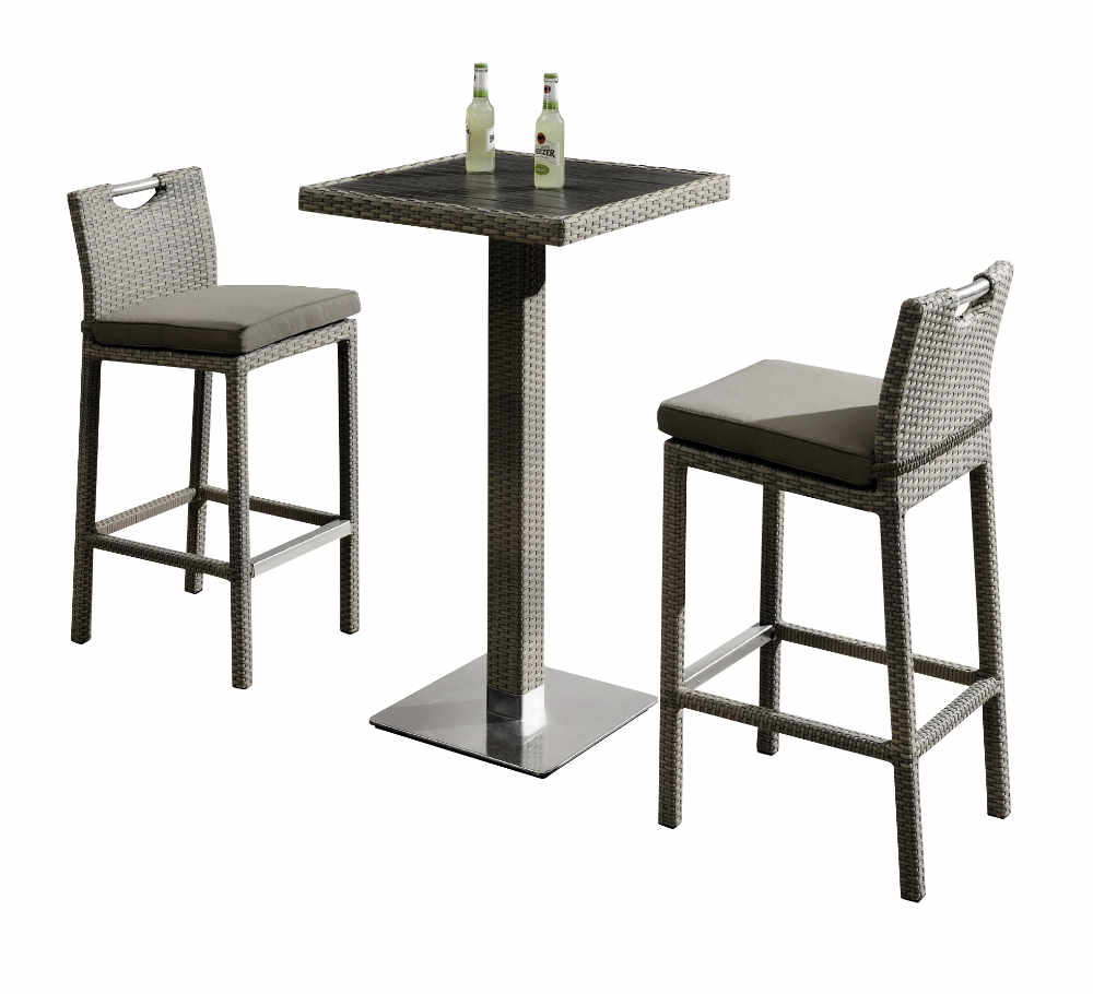Stehtisch Rattan Bovino Bar Table