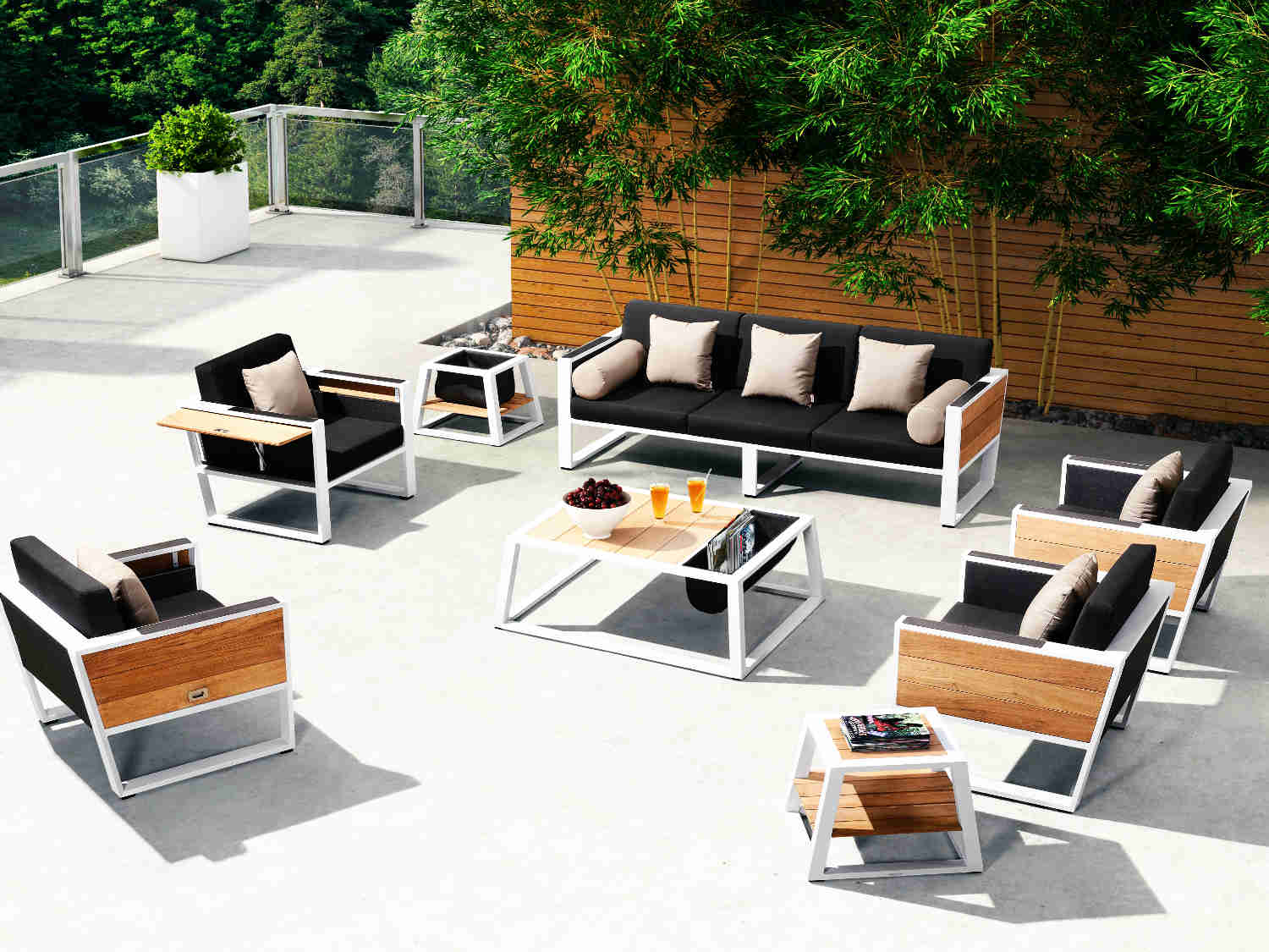 Exklusive Loungemöbel Exklusive Loungemöbel 4seasons Madoera Living Sessel