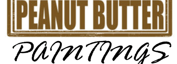 Peanut Putter Paintings