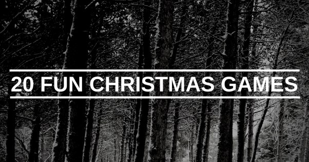 20 Fun Christmas Games