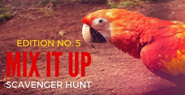 Mix It Up Scavenger Hunt #5
