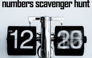 Numbers Scavenger Hunt