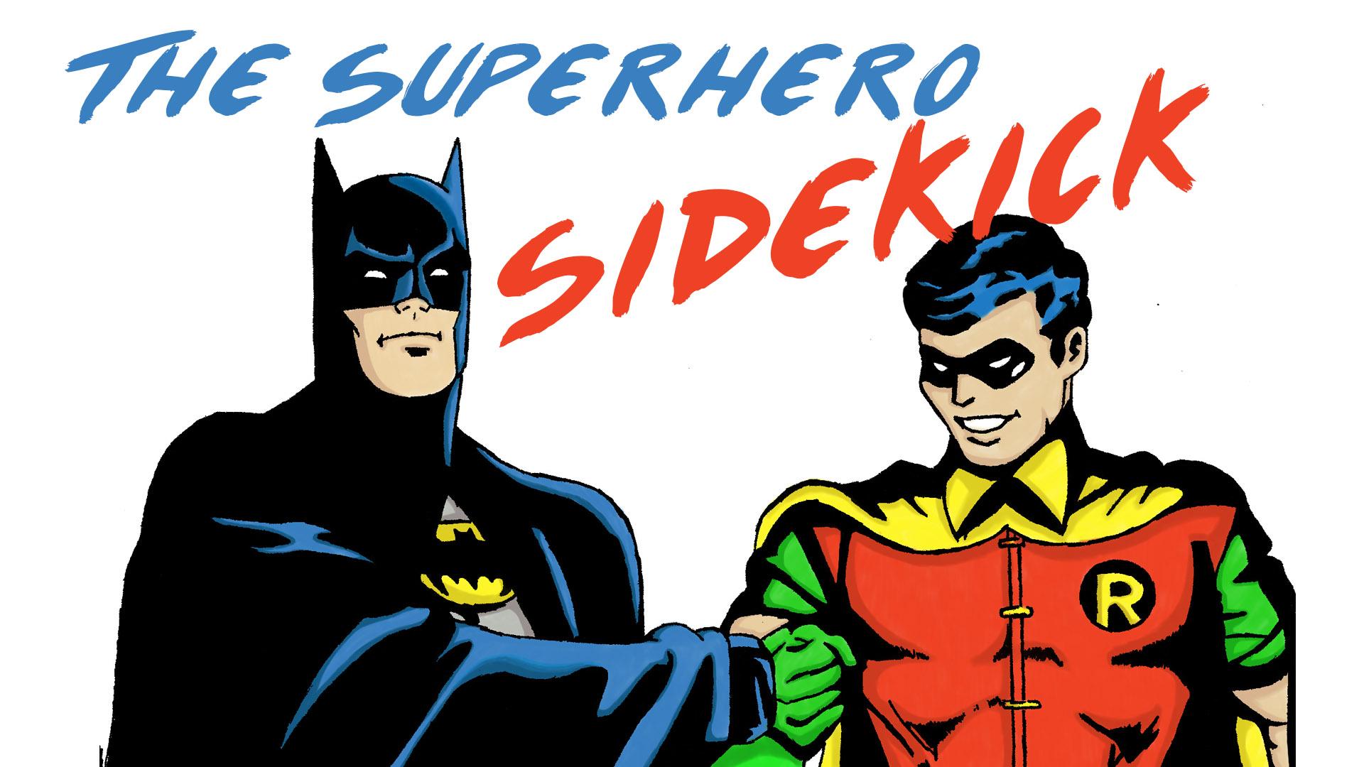 superhero and sidekicks
