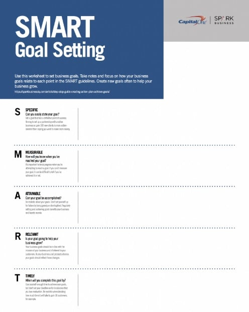 11 Effective Goal Setting Templates for You - Stunning Motivation - smart goals template