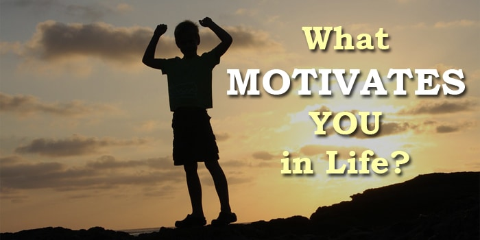 What Motivates You In Life? The 6 Common Factors That Drive People - what motivates you