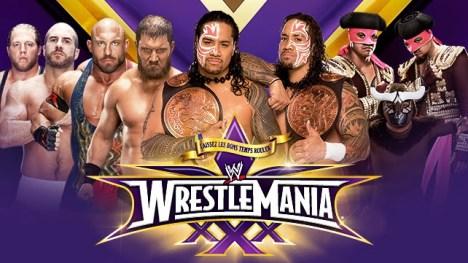 wwe-wrestlemania-30-wwe-wrestlemania-xxx-tag-team-fatal-4-way-championship-match-the-real-americans-vs-rybaxel-vs-the-usos-vs-los-matadores