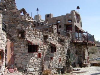Mystery Castle in Phoenix AZ. Saved from wikipedia.org.