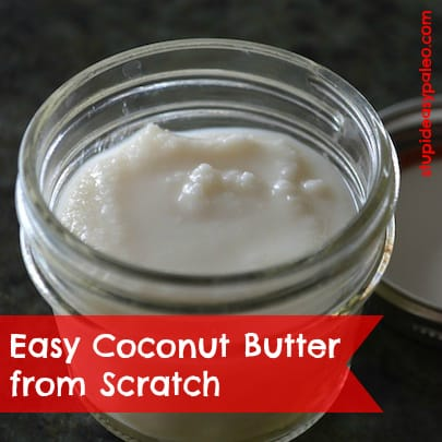 Coconut Butter from Scratch