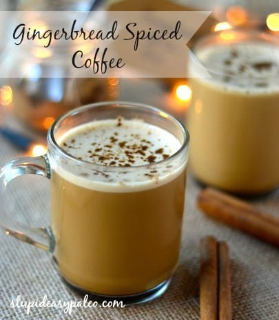 Gingerbread Spiced Bulletproof Coffee