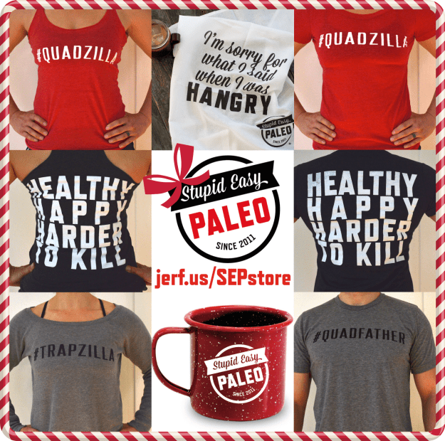 Just In Time For the Holidays | stupideasypaleo.com
