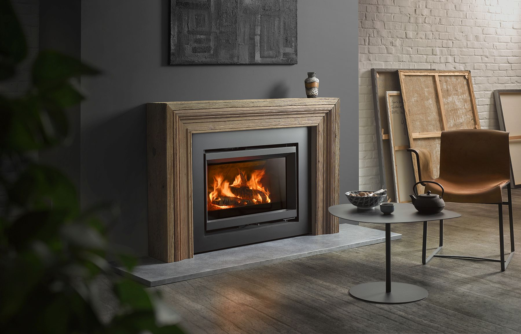 Wood Burning Stoves En Insets Stûv 6