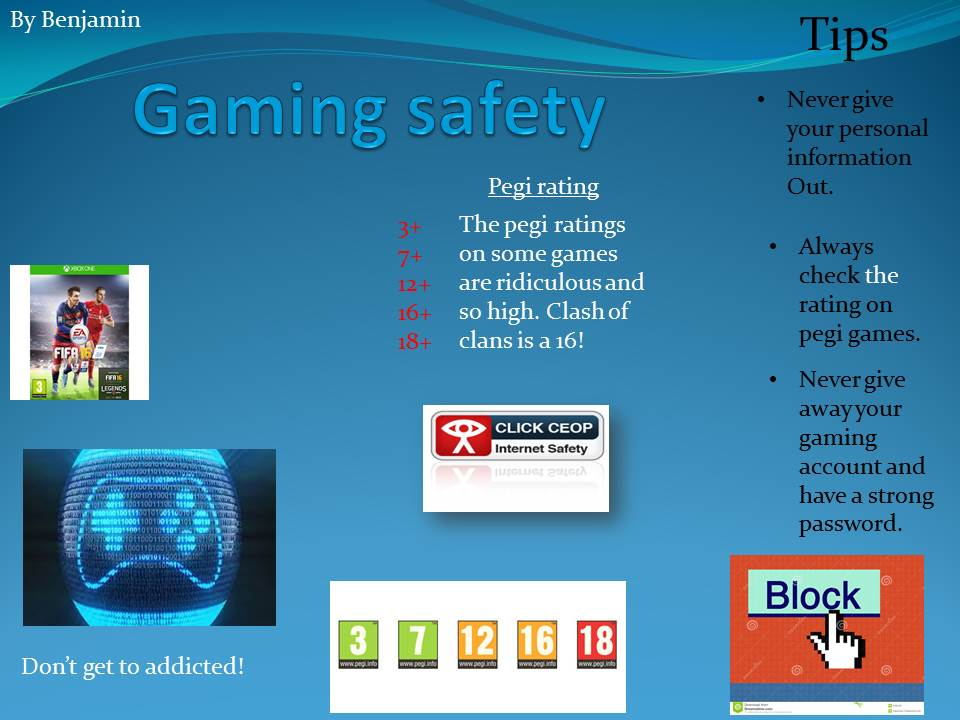 Year 5 Online Gaming Advice for Parents Year 4/5 Class Blog - poster on line
