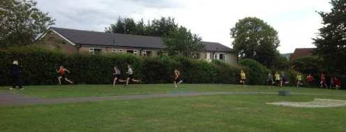 The marathon runners