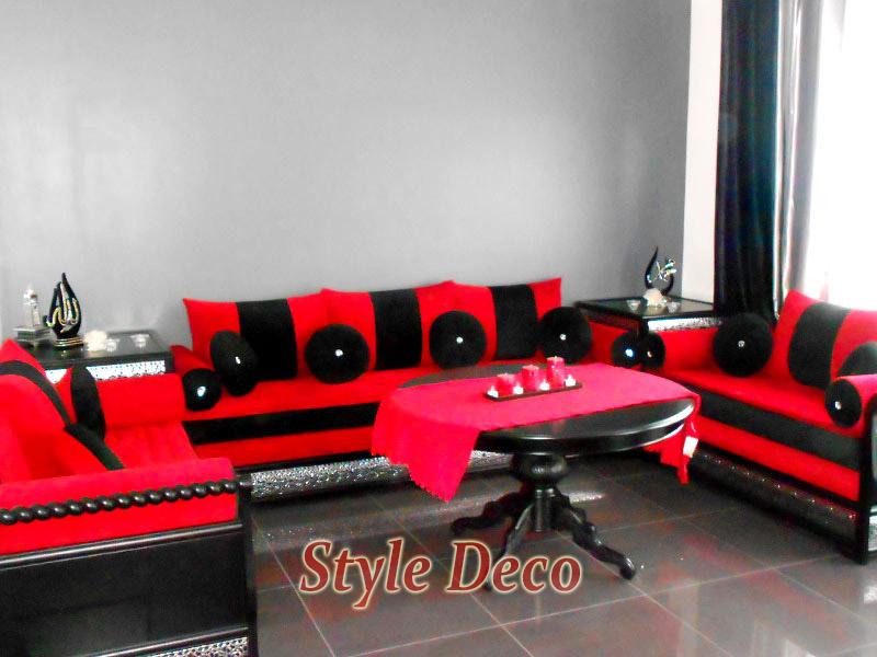 Salon Moderne Noir Et Gris