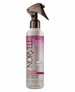 This product is used before the airbrush in salon system