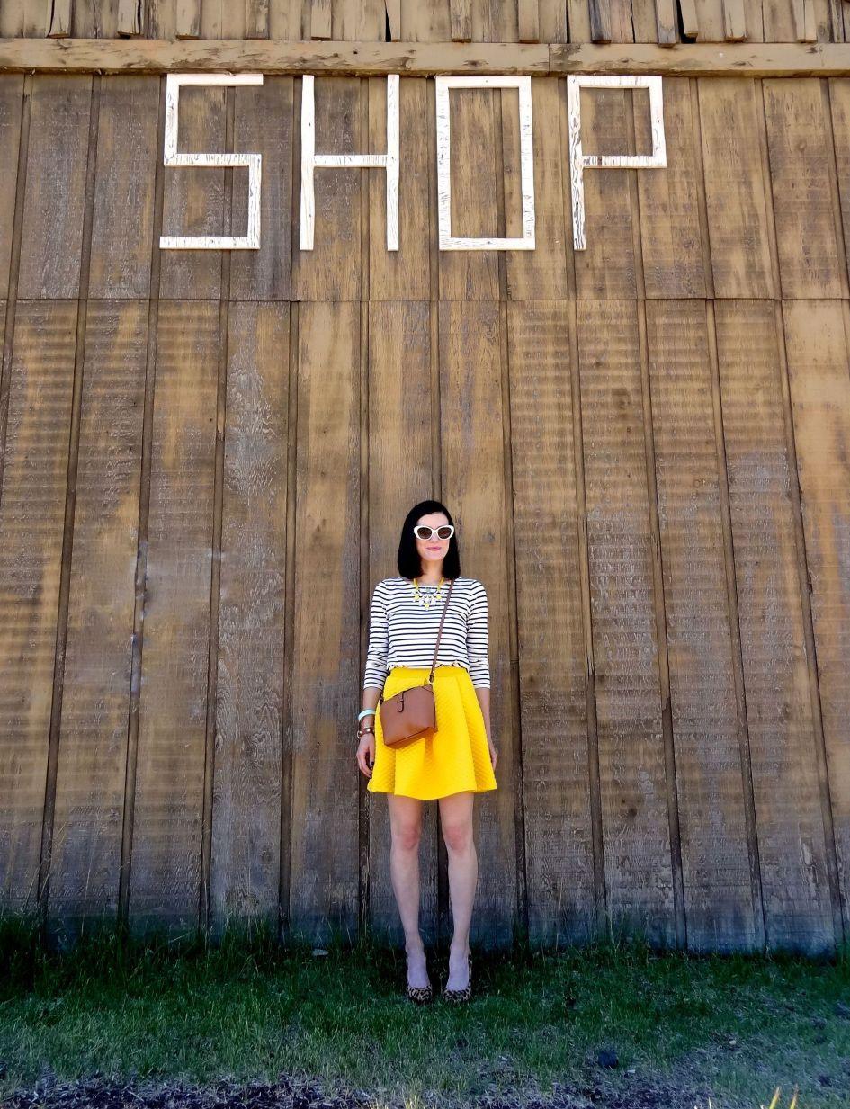 Yellow Skirt 2b