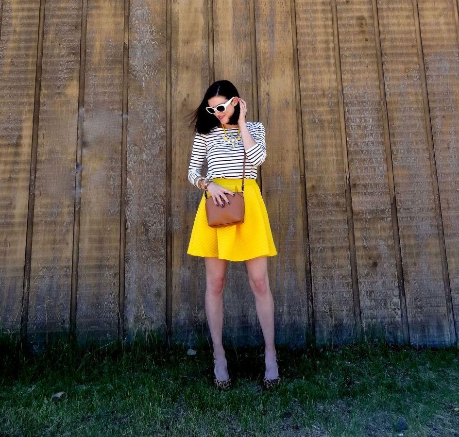 Yellow Skirt 3b