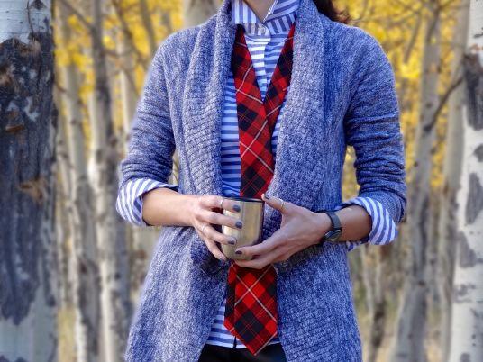 Sweater + Tie 6a