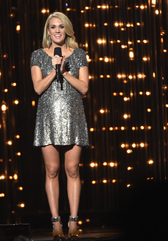 Carrie Underwood CMA popsugar 1