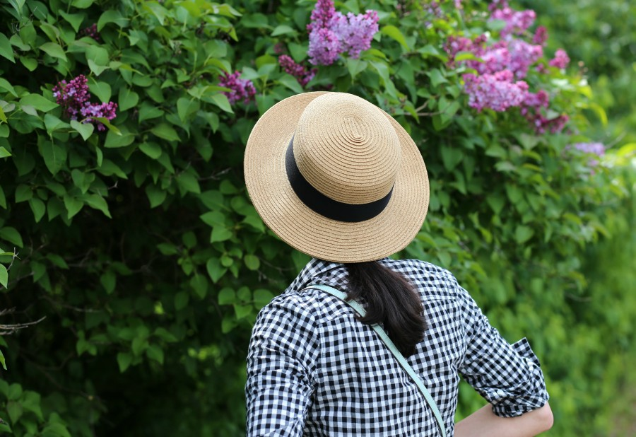 Gingham + Hat 5a