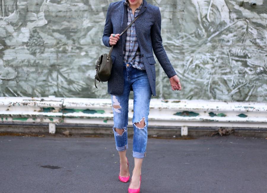 Blazer + Pink Shoes 5a
